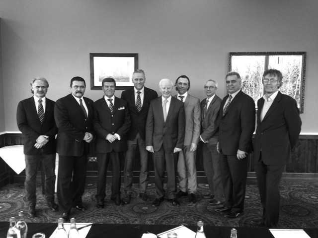 Kickboxing Federation Board and Pat Hickey